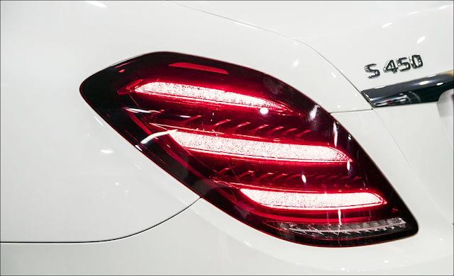 Thiết kế phần hông xe Mercedes S450L Star 2019