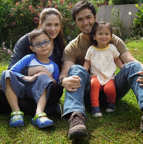 Kristine Hermosa  Oyo Boy Sotto and Kids Quiel and Ondrea Family    Oyo Boy Sotto And Kristine Hermosa Baby