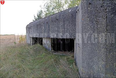 АПК (артиллерийский полукапонир) №2. Амбразуры