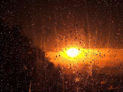 Caminho, sol, chuva