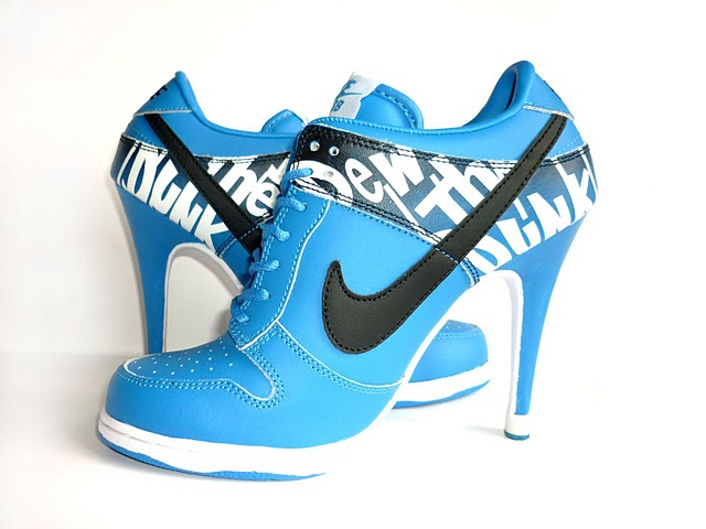 another chance 4b040 e69a2 be so BLOND! Buty Nike na obcasie