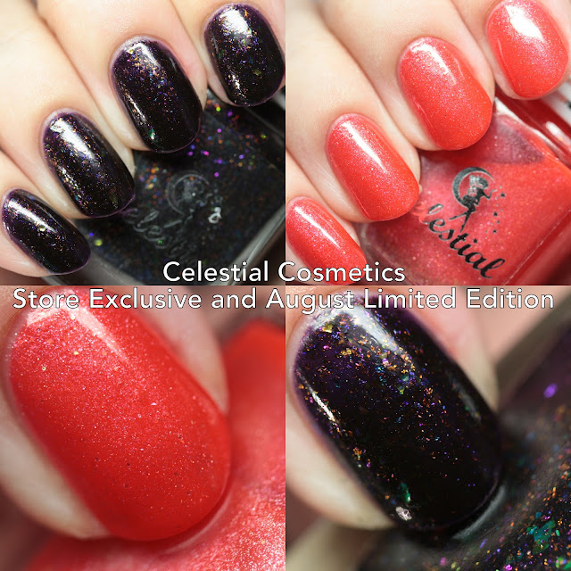Celestial Cosmetics Store Exclusive and August Limited Edition
