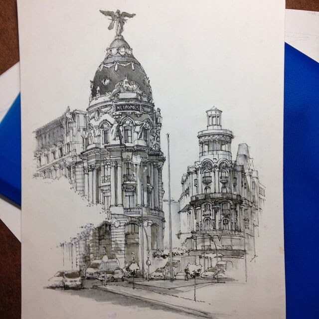 10-Metropolis-Spain-HAO-Sketches-Fineliners-Urban-Architectural-www-designstack-co