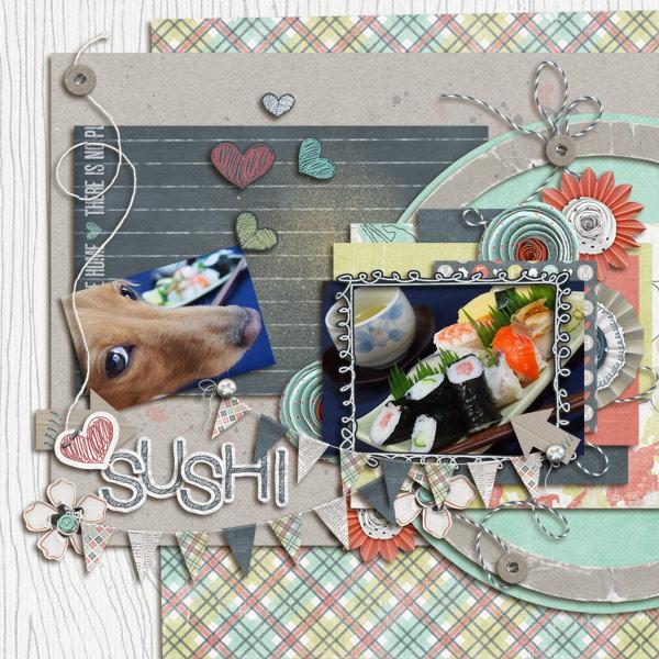 DSB  I like SUSHI