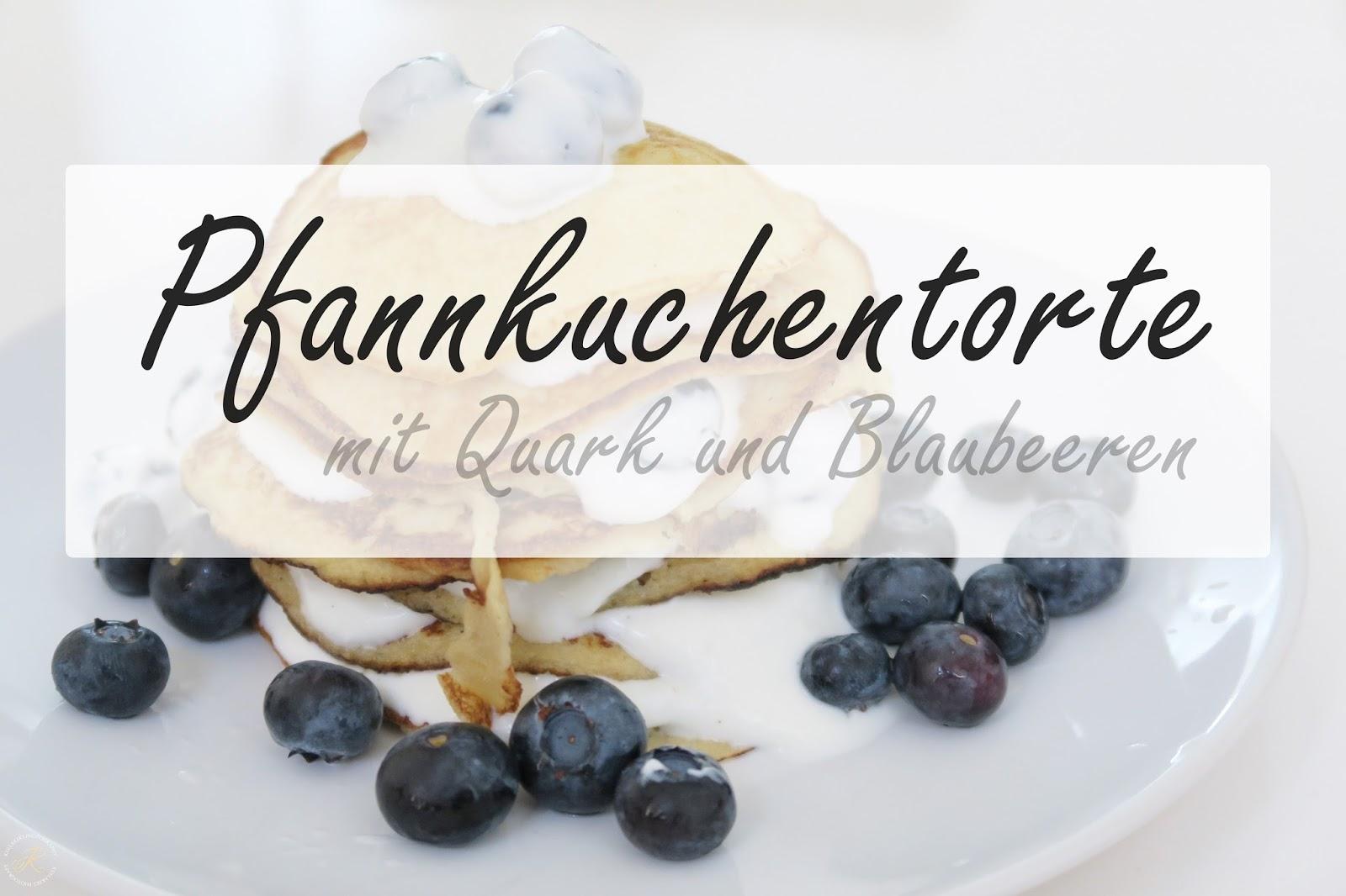 Rezept Pfannkuchentorte Mit Blaubeerquark Kullakeks
