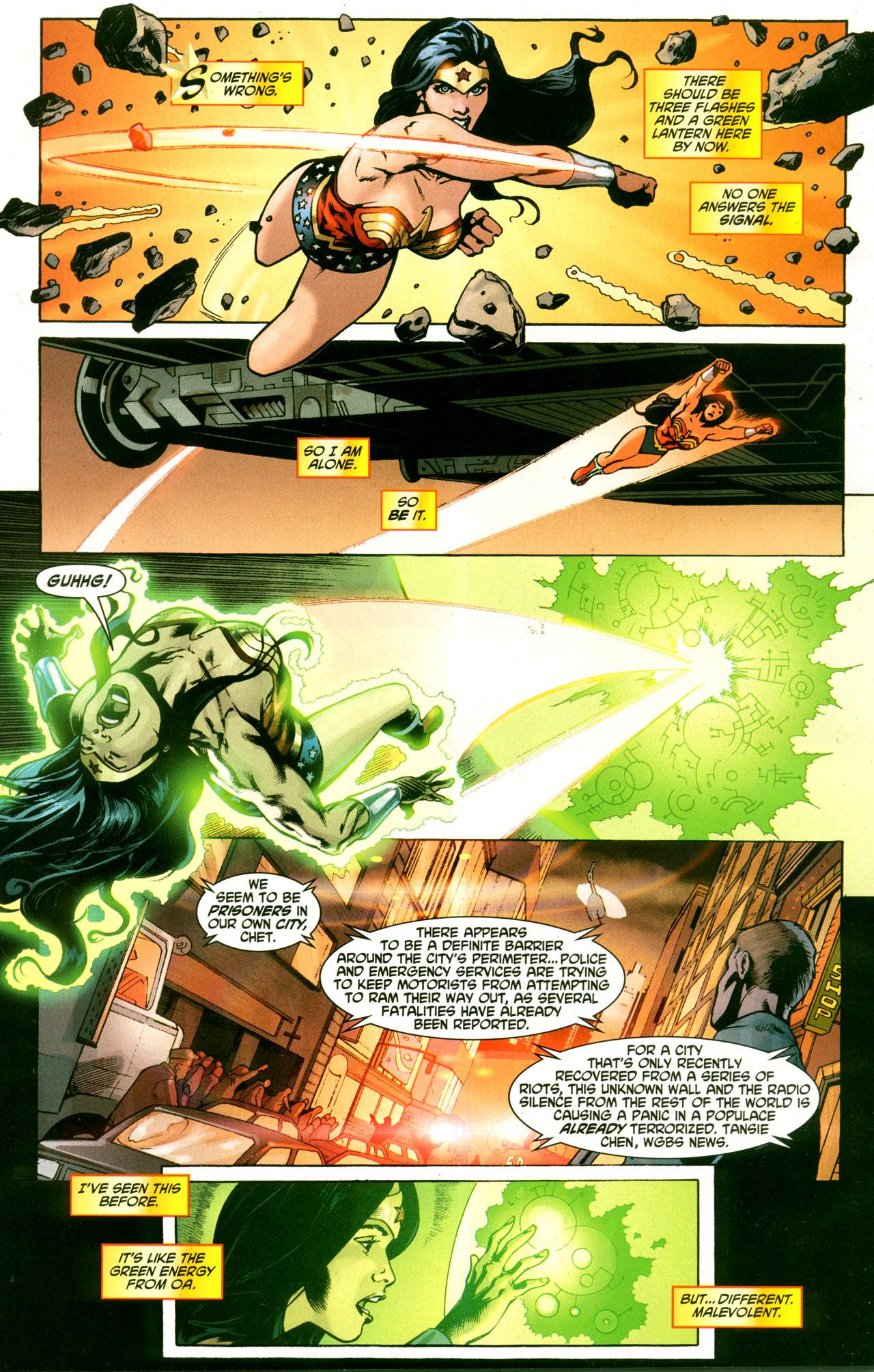 Read online Wonder Woman (2006) comic -  Issue #42 - 16