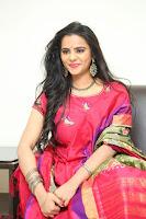 Manasa in Pink Salwar At Fashion Designer Son of Ladies Tailor Press Meet Pics ~  Exclusive 45.JPG
