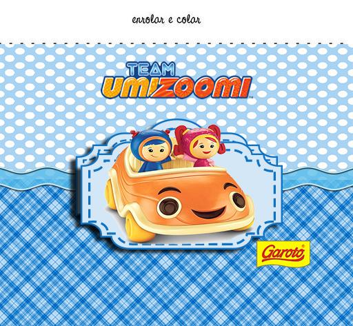 Etiquetas de  Umizoomi para imprimir gratis.
