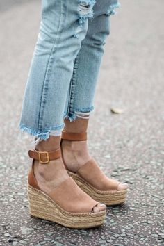 52fa3e5556f Look for Less  Chloe Isa Espadrille Wedges - Always