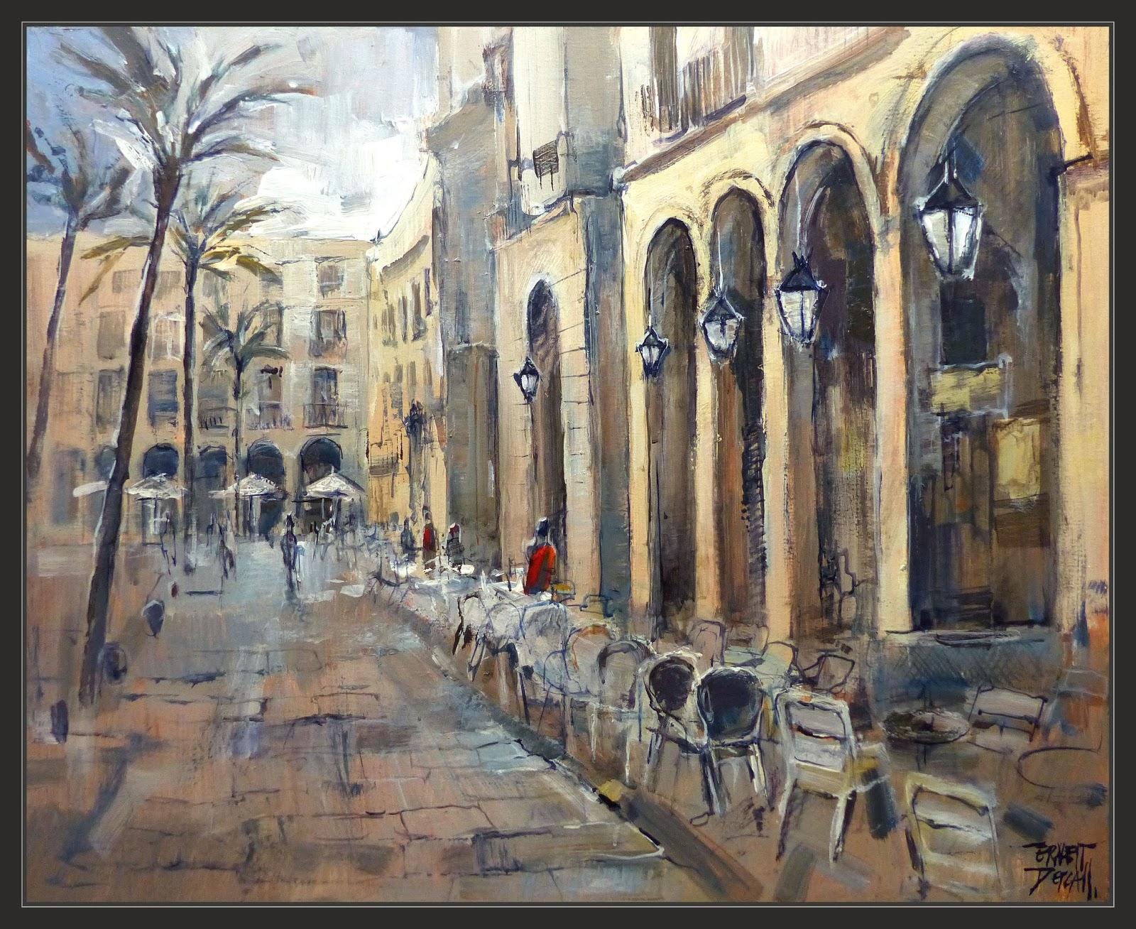 Venta pintura pintor ernest descals - Trabajo de pintor en barcelona ...