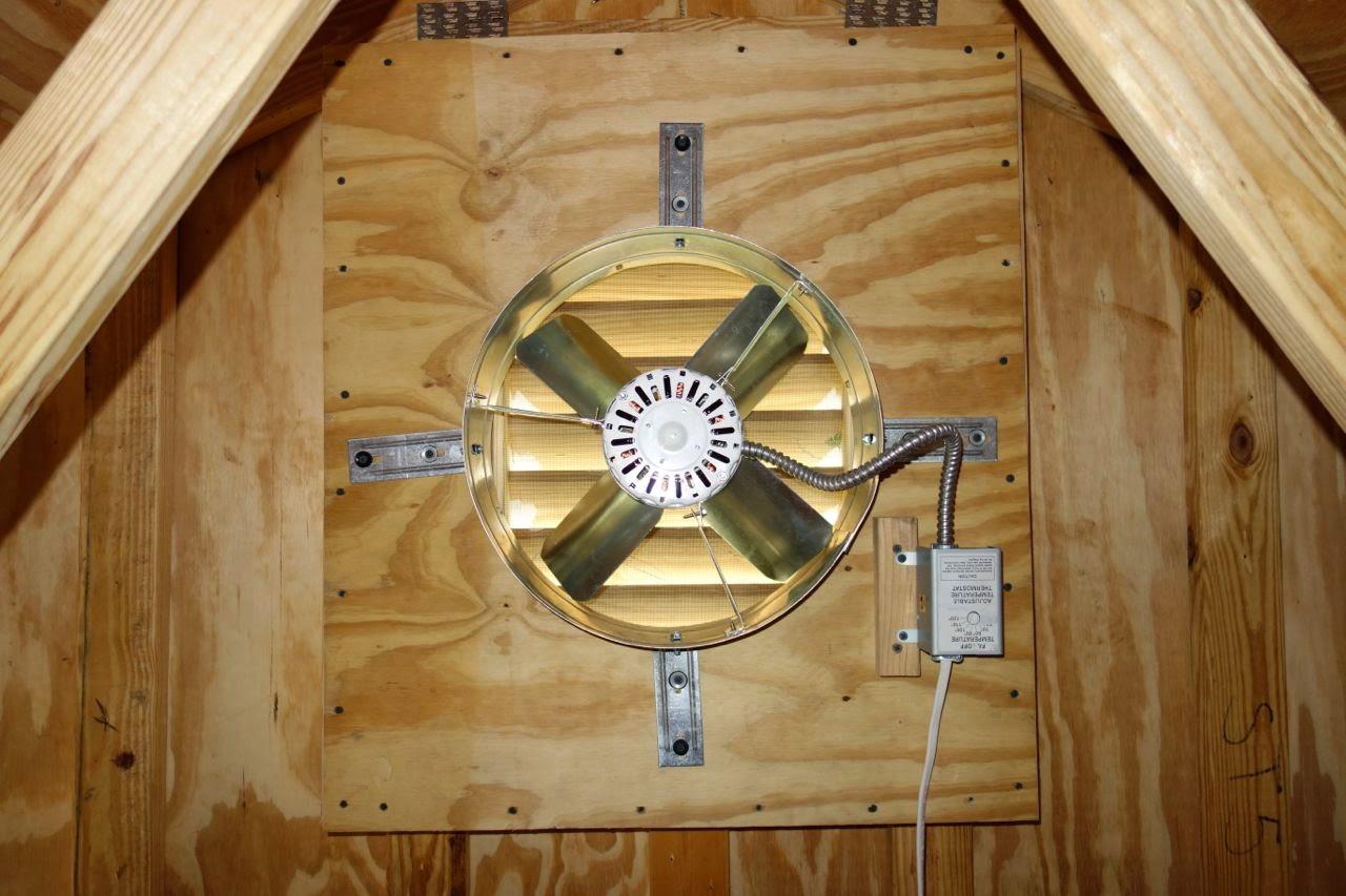 Attic Fan With Thermostat Wiring Diagram Florida Coal Cracker Chronicles Garage Attic Fan Keeps