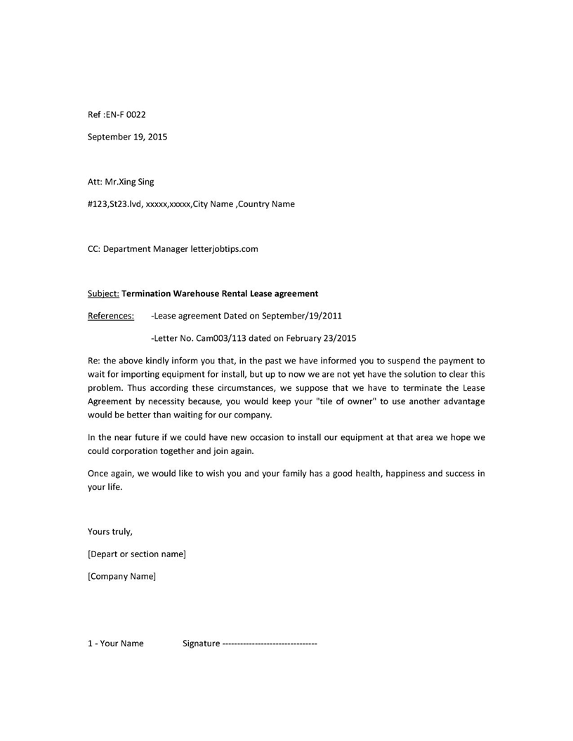 Passport Request Letter