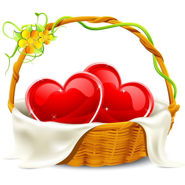Basket of Hearts