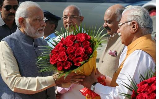 मोदी की रैली के लिए खट्टर ने भेजा देश के सभी मुख्यमंत्रियों को न्योता