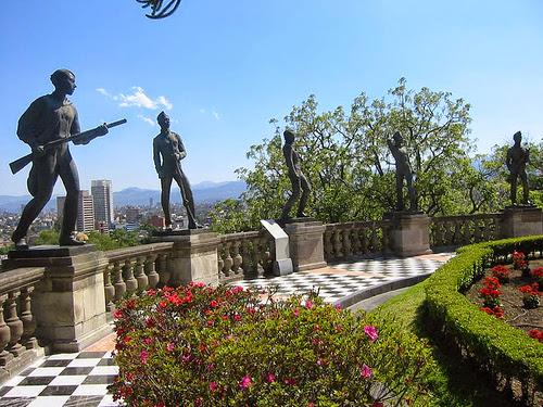 Castillo de Chapultepec. Ciudad de Mexico