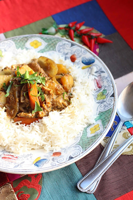 curry macanais avec des restes