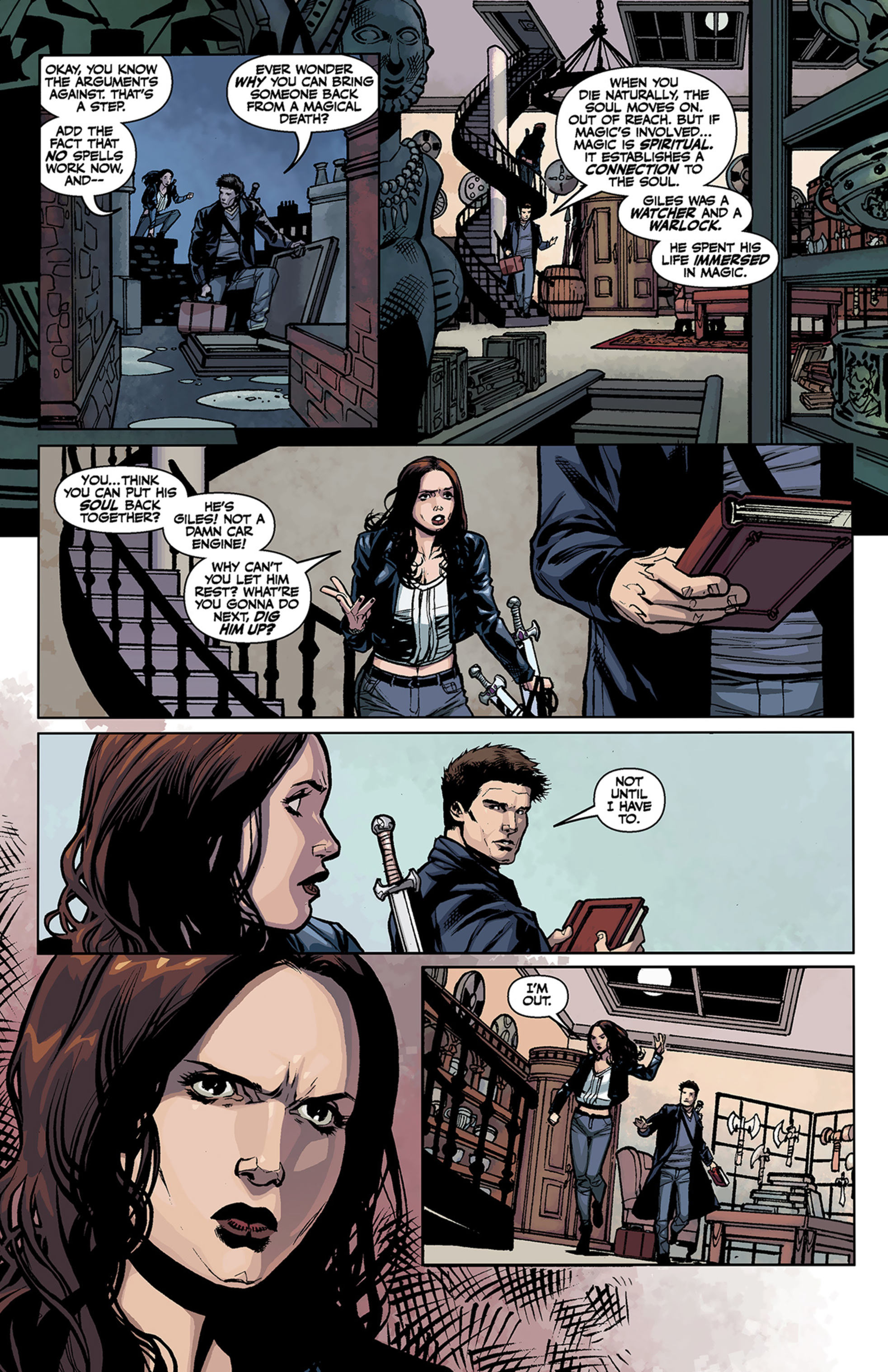 Read online Angel and Faith comic -  Issue #2 - 9