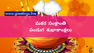 Pongal greetings Telugu