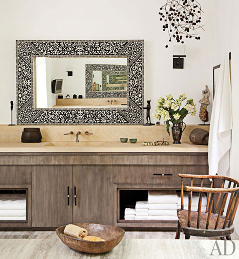 Instyle Decor Com Beverly Hills Beautiful Mother Of Pearl: Photo Drool...ellen & Portia's Home In The Hills
