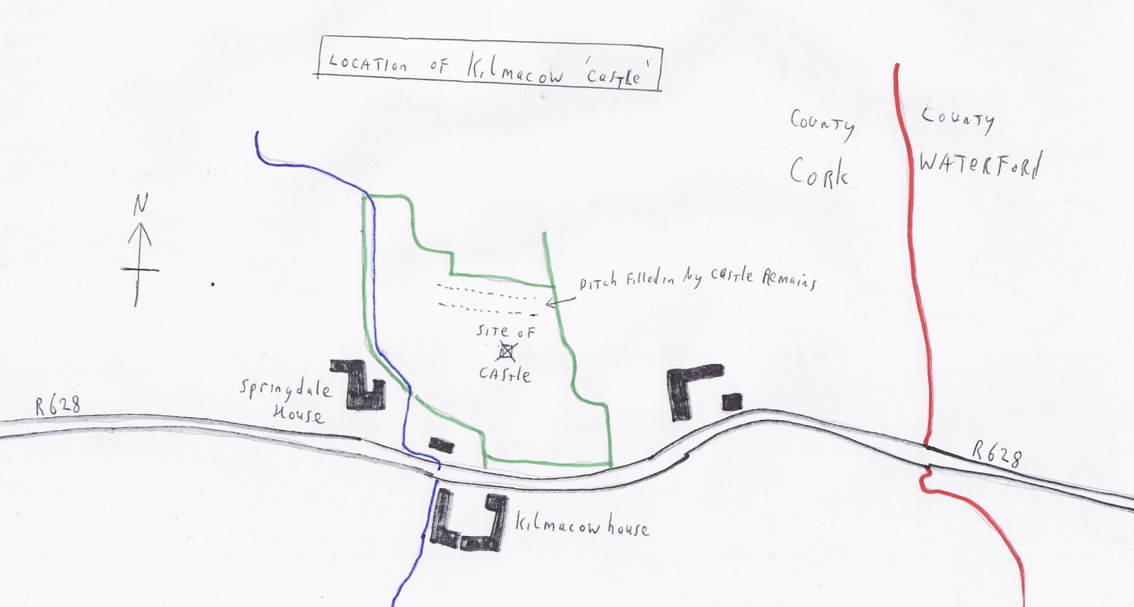 Me Val News Kilmacow Castle And Notes On Its History