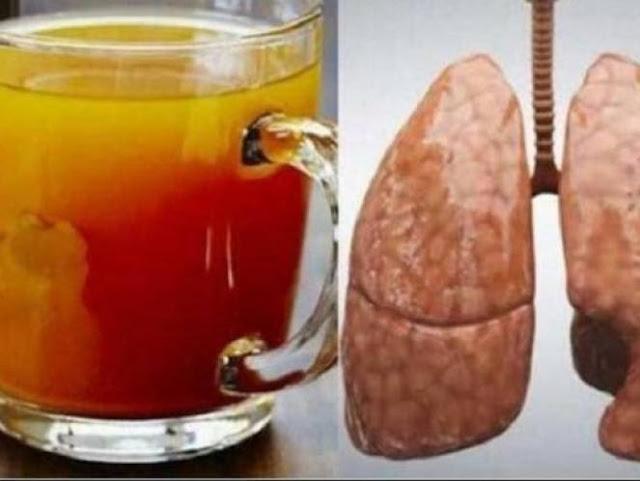 Kesehatan     Herbal     Berita Kesehatan     Tips Unik     Tanaman Obat     Kecantikan  Luar Biasa Ajaibnya Minuman ini !! Walaupun Anda Puluhan Tahun Merokok ; Dengan 2 Sendok Meminum Ramuan Ini ,Cuma Butuh 15 Menit Bersihkan Paru-Paru Anda. Begini Cara Bikin Resepnya.