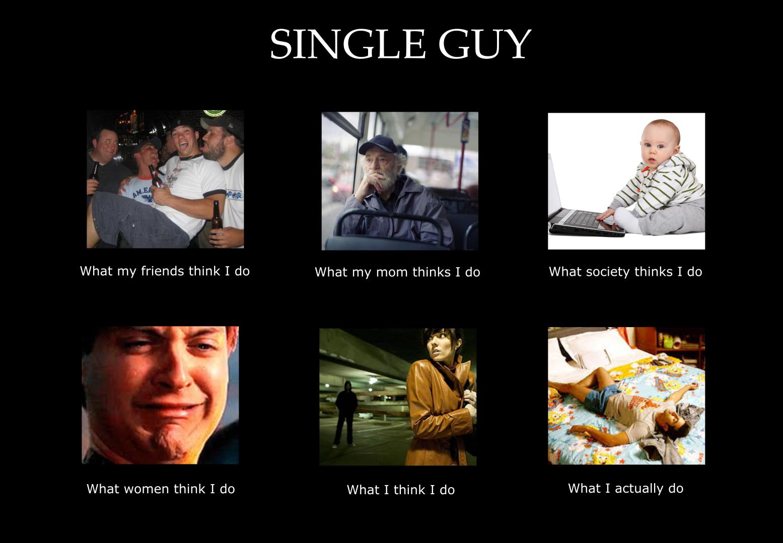 Single guy pics