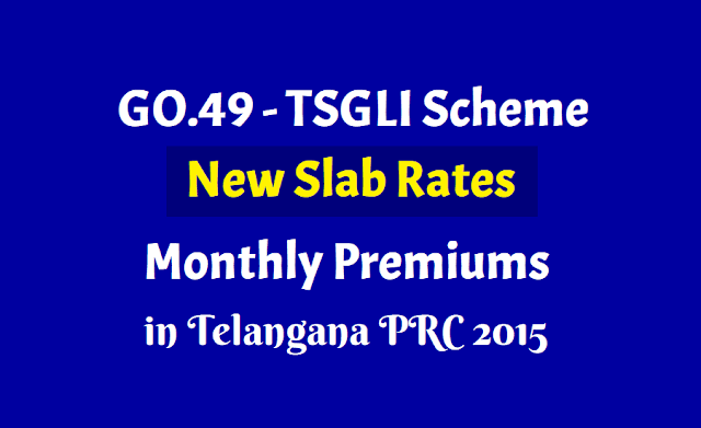 TSGLI Scheme New Slab Rates GO