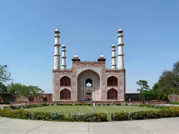 Akbar's tomb at Agra