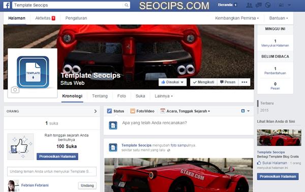 Fanspage Facebook Seocips