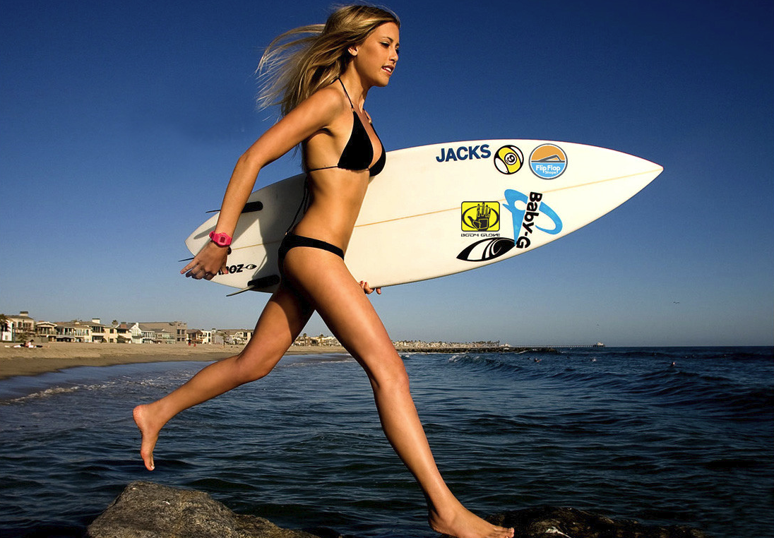Hottest naked surfer girl have removed