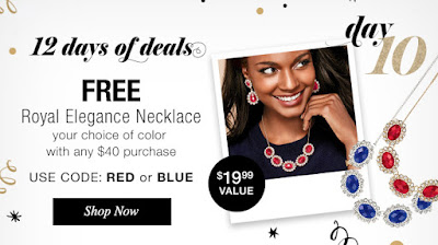 Day 10 Of Avon 12 Days Of Deals - Free Royal Elegance Statement Necklace