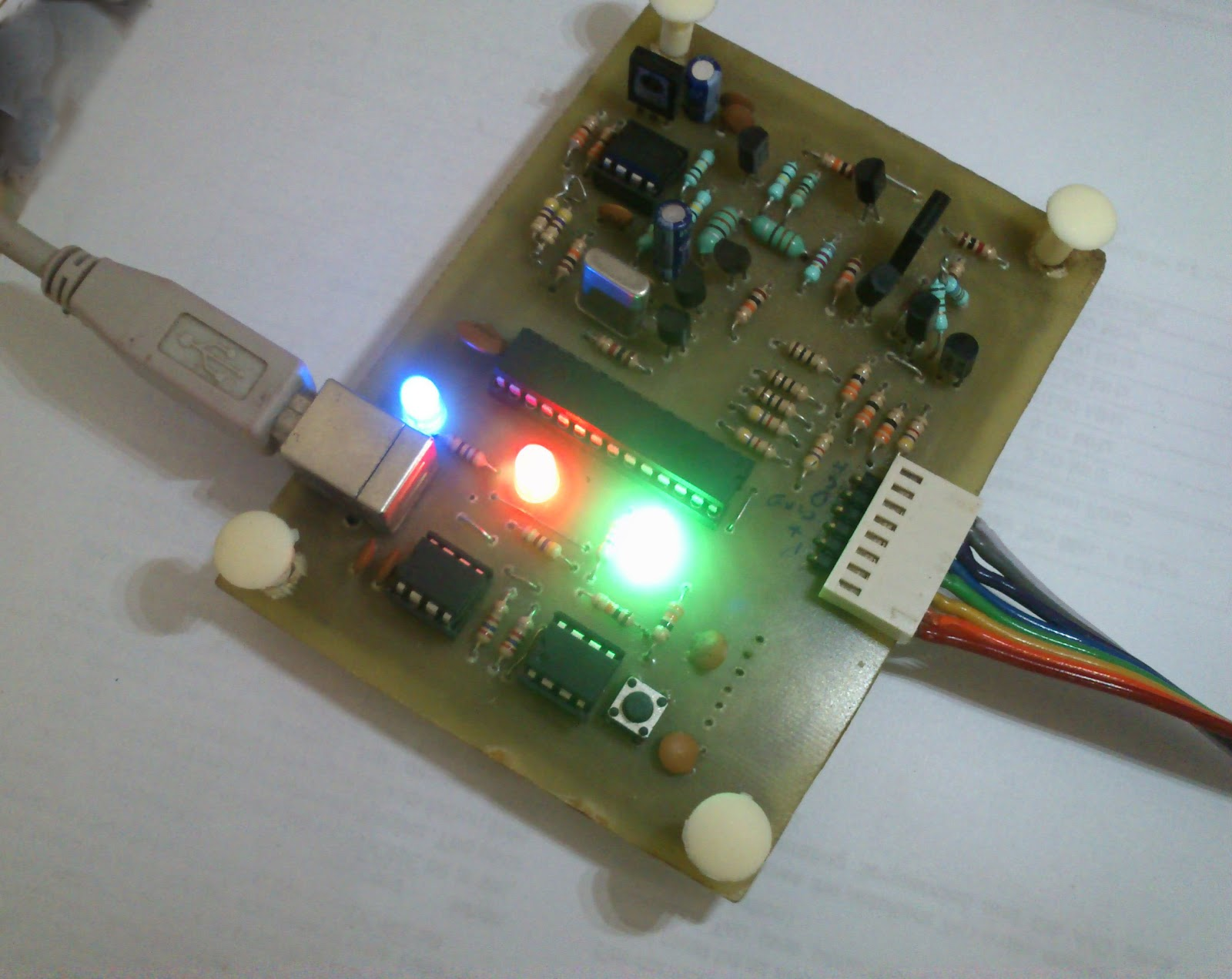 Embedded Engineering Pickit 2 Clone The Universal Microchip Pic 1 Circuit Diagram A 3d Model