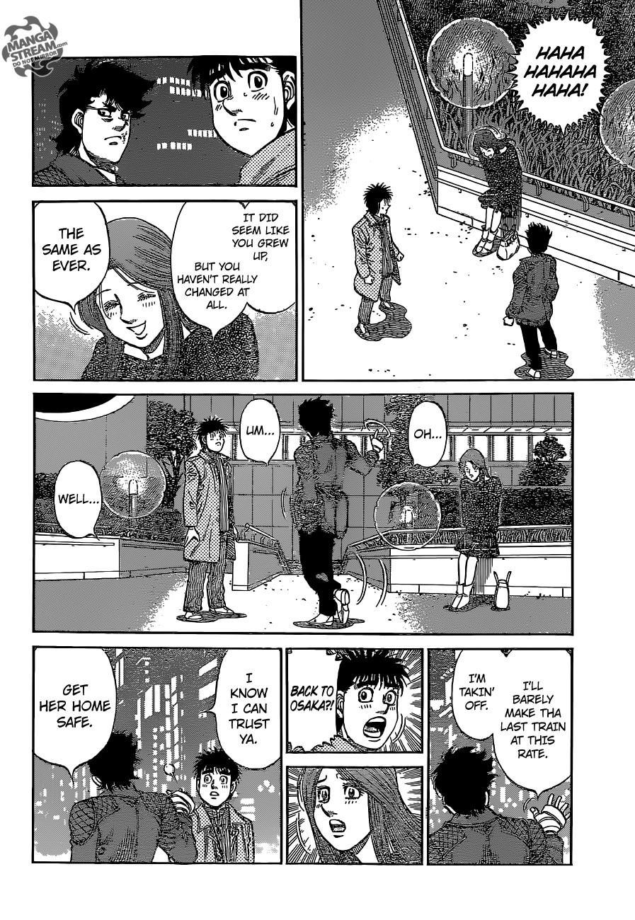 Hajime no Ippo - Chapter 1129