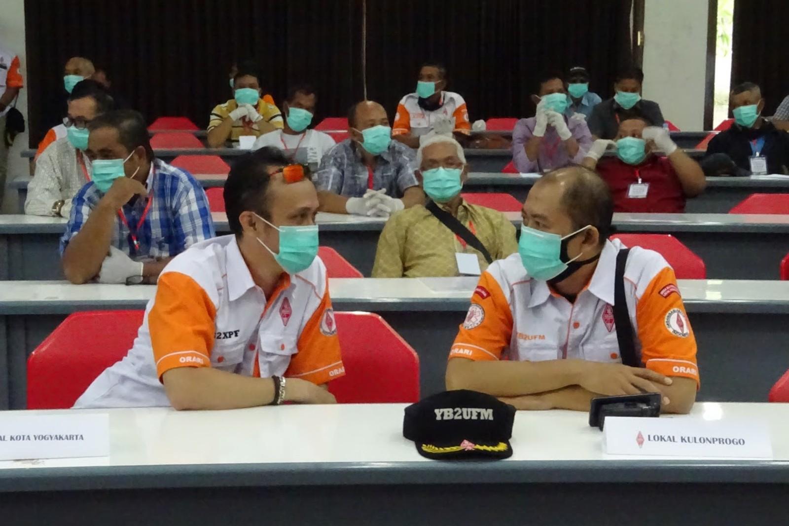 YB2XPF dan YB2UFM Ka Orlok Kota Yogyakarta dan Kulonprogo di UNAR Non Reguler 2020