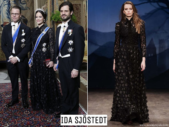 Princess Sofia wore Ida Sjöstedt skirt from AW 2017 Collection