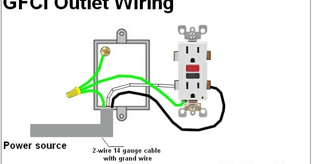 House Electrical Wiring Diagram   Gfci Outlet Wiring Diagram
