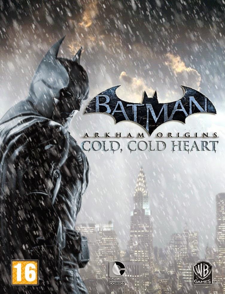 Cover Caratula Batman Arkham Origins Cold Cold Heart Full PC ESPAÑOL