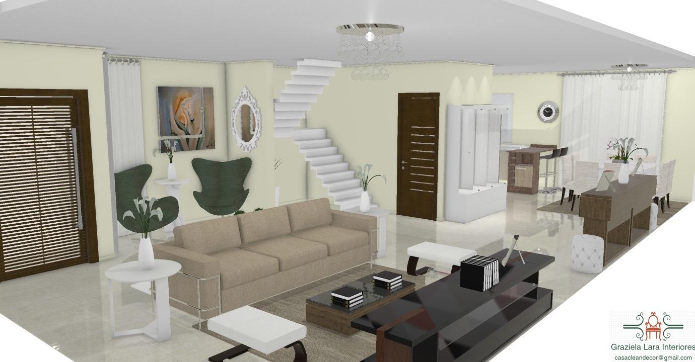 Construindo Minha Casa Clean Consultoria De Decora O Salas Com