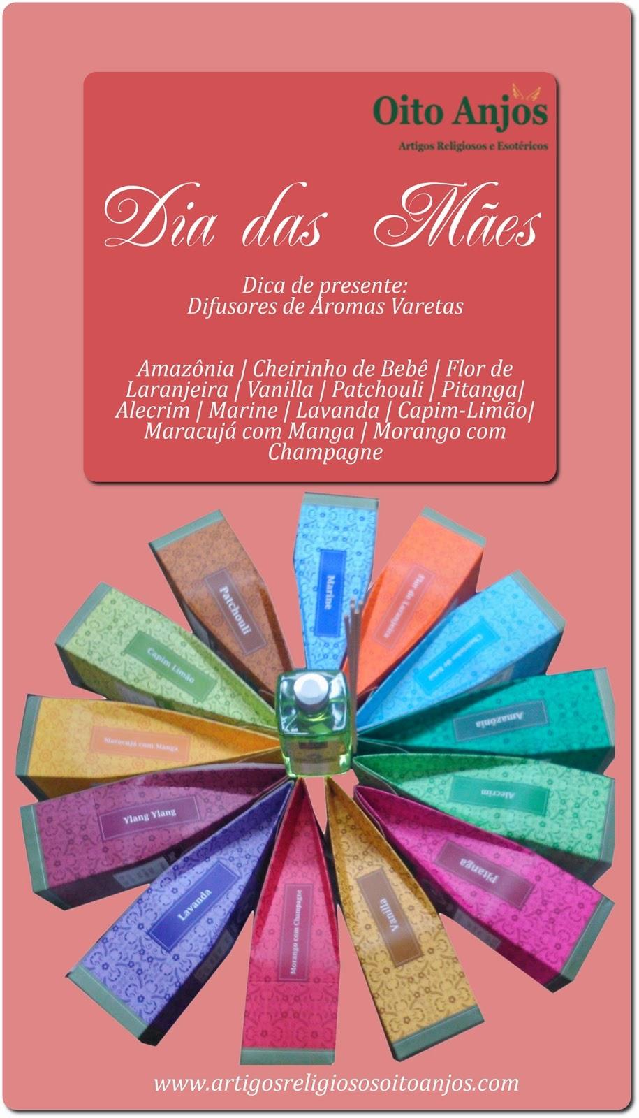 Aromatizador de Varetas * Oito Anjos Artigos Religiosos e Loja Esotérica