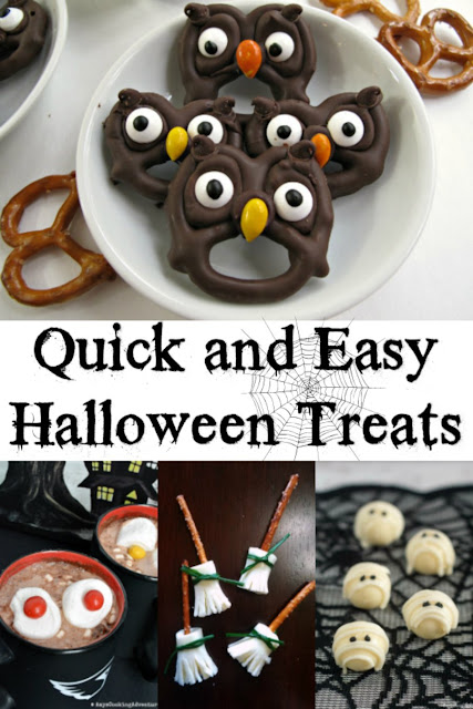 Super simple and super cute ideas to make Halloween a little spooooookier without taking much time. These quick and easy ideas and recipes are perfect for when you are in a hurry!