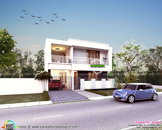 3 bedroom contemporary style 2080 sq-ft home