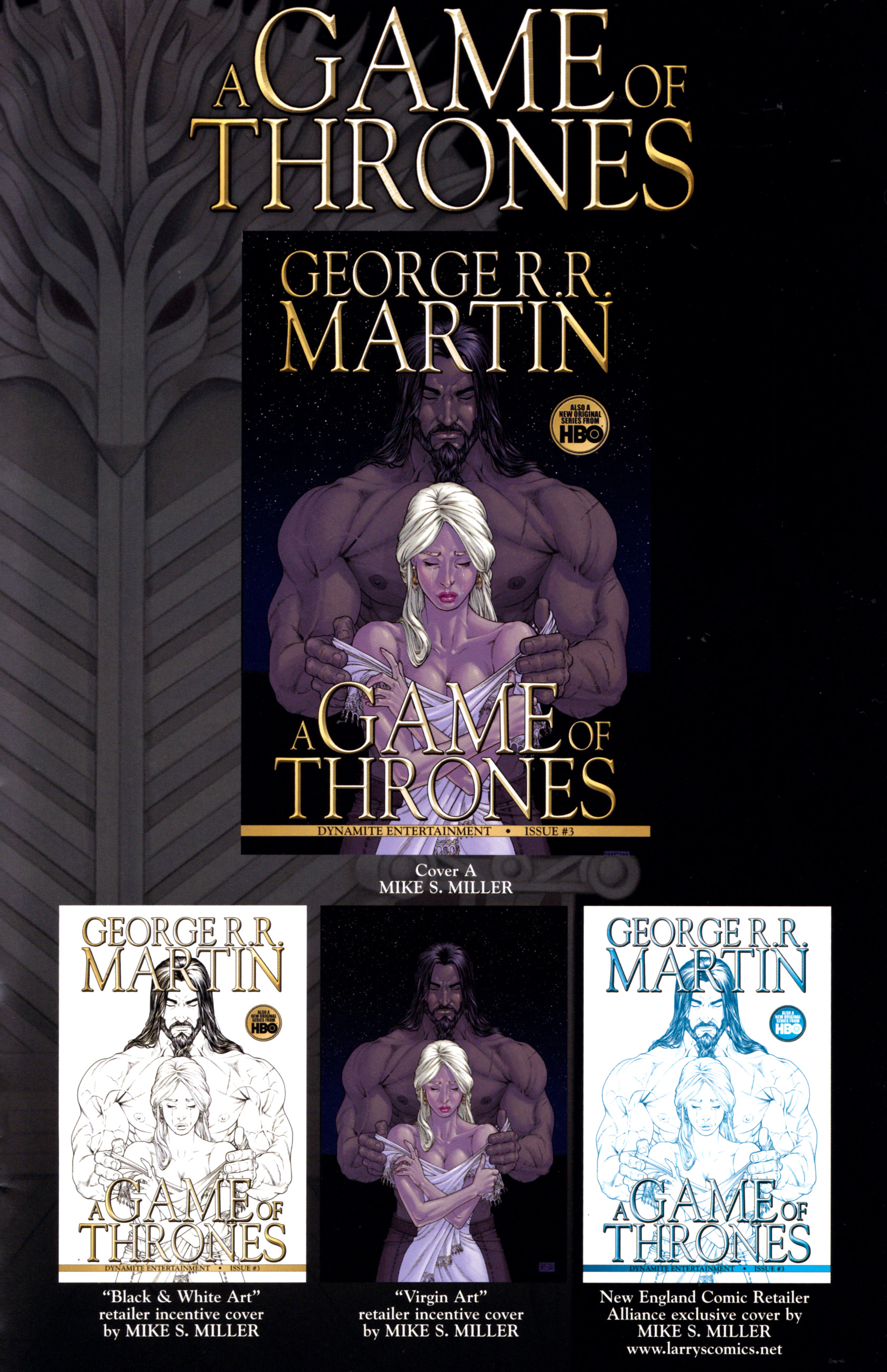 Read online A Game Of Thrones comic -  Issue #3 - 35