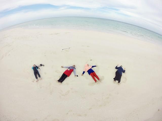 Paket travelling ke Pulau Derawan bersama Cheria Halal Holiday