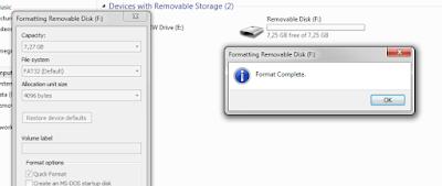 Cara Memperbaiki Flashdisk 0 byte dengan CMD (Command Prompt)