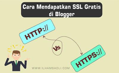 Cara Mendapatkan SSL Gratis Dari Blogger