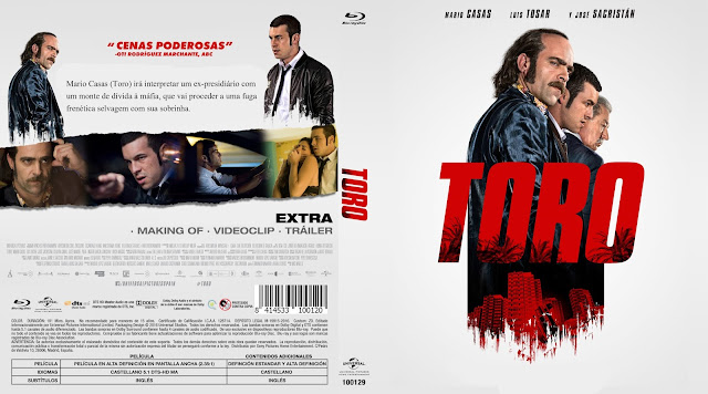 Capa Bluray Toro