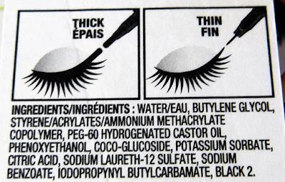 CoverGirl Intensify Me! Liquid Liner ingredients