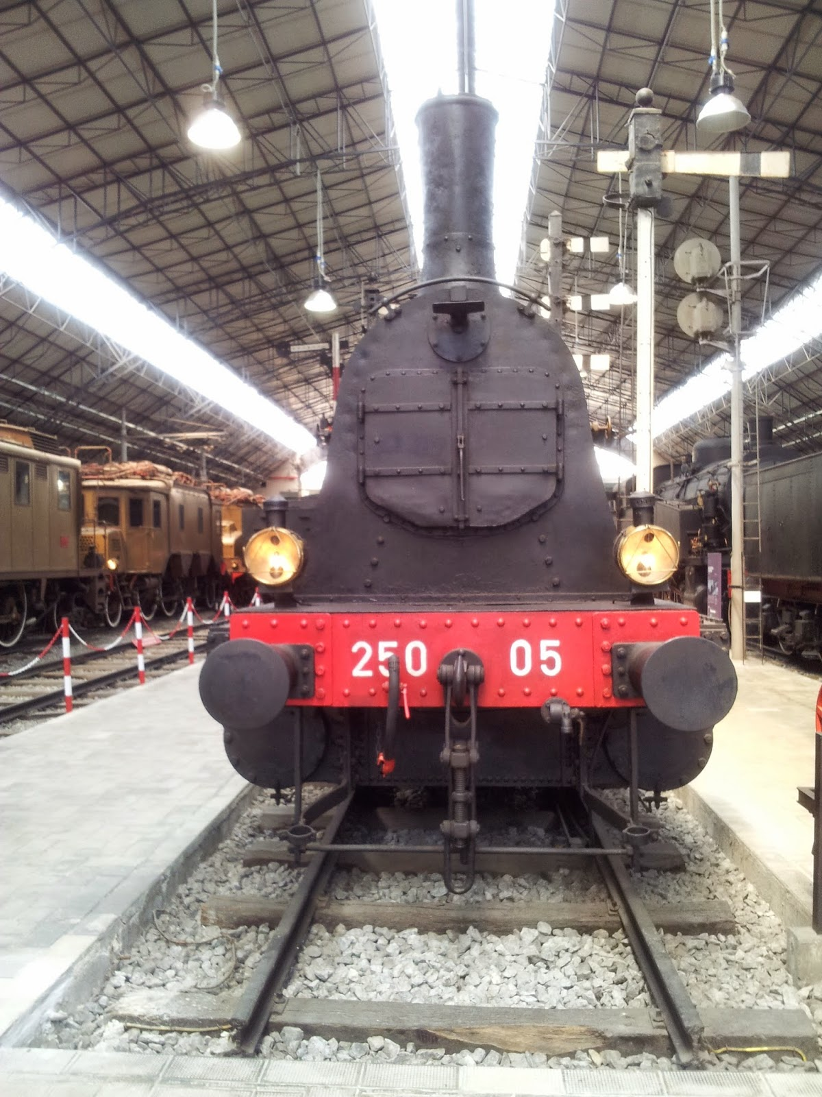 Steam locomotive, Museum of Science and Technology, Milan