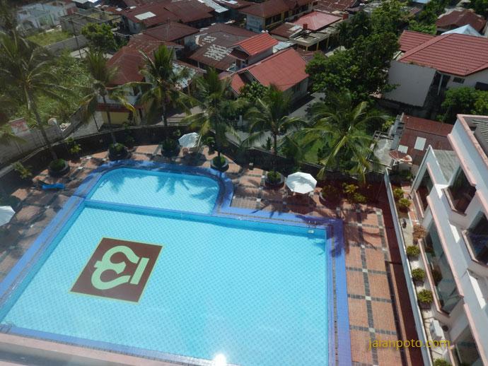 Kolam Hotel Pangeran Pekanbaru