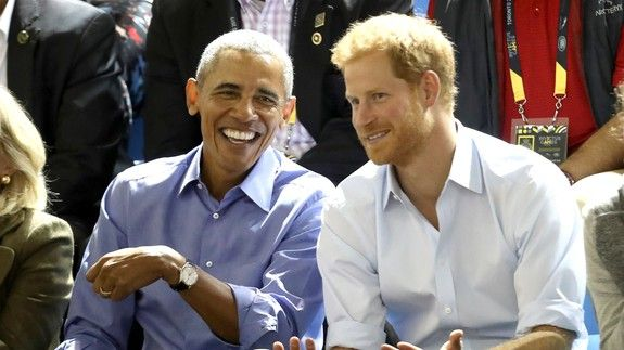 Prince Harry interviewed Obama and it looks like it'll be hilarious